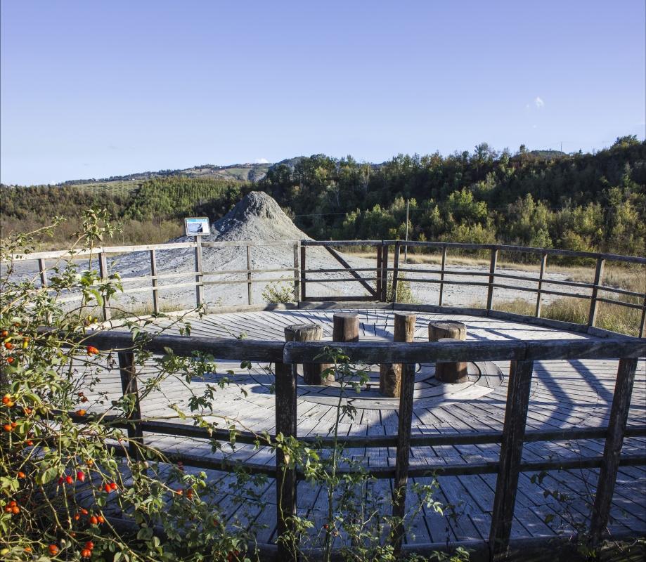Riserva naturale regionale delle Salse di Nirano-5 - Ovikovi - Fiorano Modenese (MO)