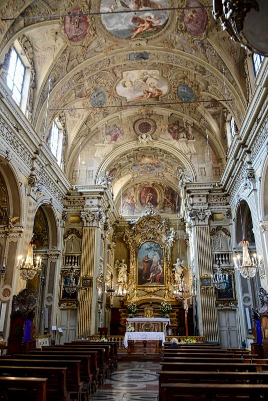 Modena SanBarnaba interno navata centrale - Giorgio Ingrami - Modena (MO)