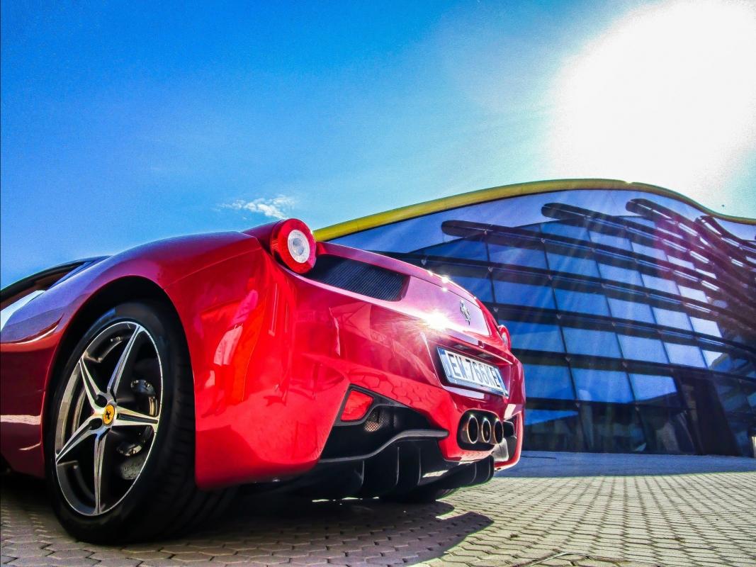 Mondo Ferrari al MEF - Angelo nastri nacchio - Modena (MO)