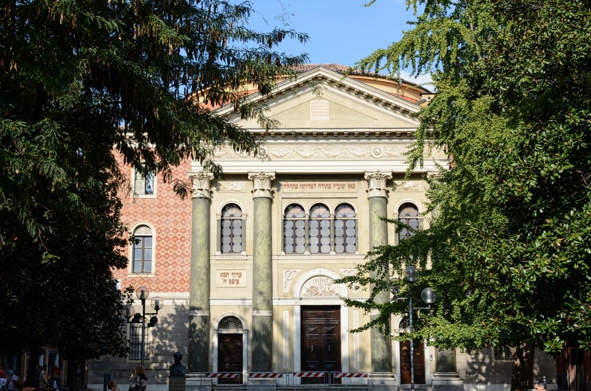Modena Sinagoga Esterno 1 - Giorgio Ingrami - Modena (MO)