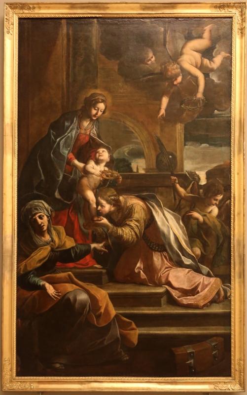 Alessandro tiarini, sposalizio mistico di santa caterina d'alessandria, 1630-33 - Sailko - Modena (MO)