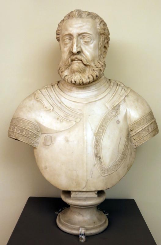 Alfonso lombardi detto cittadella, busto del duca alfonso I d'este, 1530 ca - Sailko - Modena (MO)
