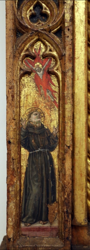 Angelo e bartolomeo degli erri, polittico dell'ospedale della morte, 1462-66, 10 francesco - Sailko - Modena (MO)