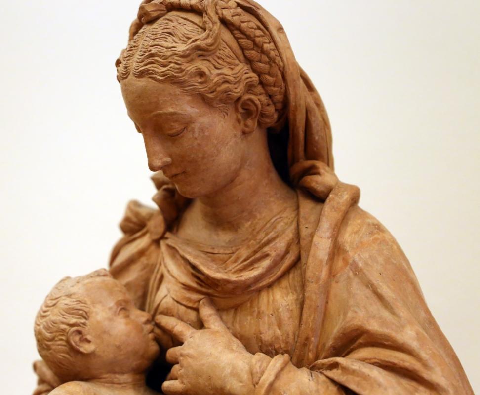 Antonio begarelli, madona del latte, 1532-35 ca. 03 - Sailko - Modena (MO)