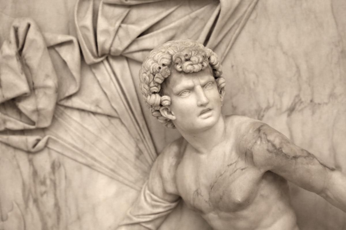 Antonio lombardo, marte a riposo, 1510-15 ca. 02 - Sailko - Modena (MO)