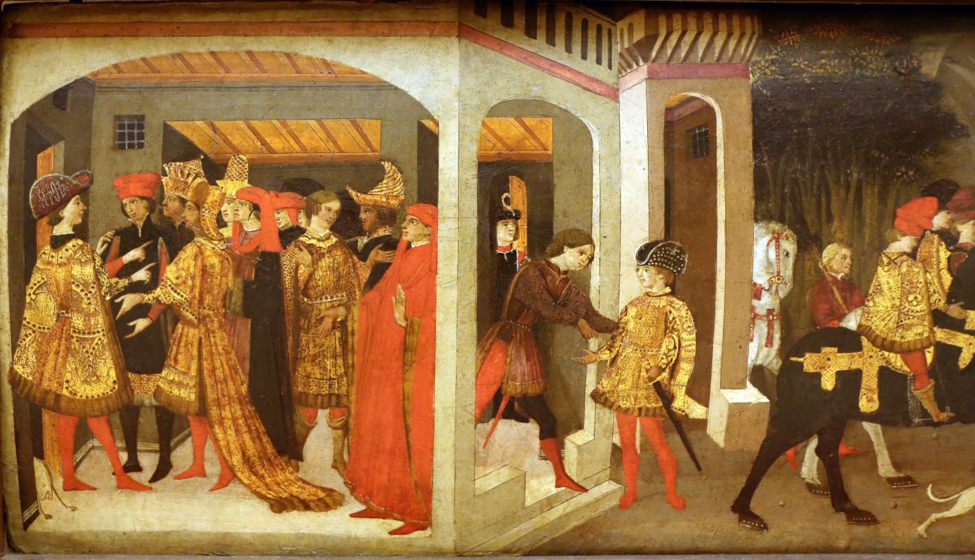 Apollonio di giovanni, novella di griselda, 1440 ca. 02 - Sailko - Modena (MO)