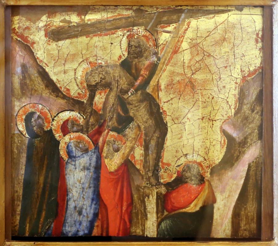 Arcangelo di cola da camerino, predella, 1430-35 ca. 03 deposizione di cristo - Sailko - Modena (MO)