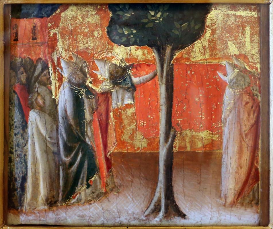Arcangelo di cola da camerino, predella, 1430-35 ca. 04 esequie di sa zanobi - Sailko - Modena (MO)