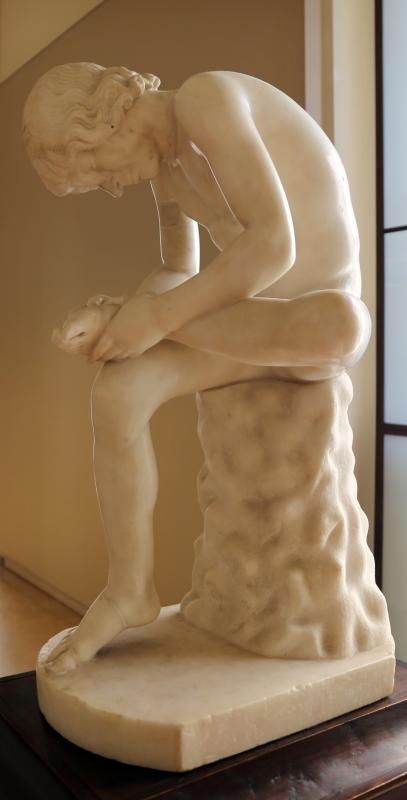 Arte romana, spinario, 90 dc ca, con restauri del xvi secolo - Sailko - Modena (MO)