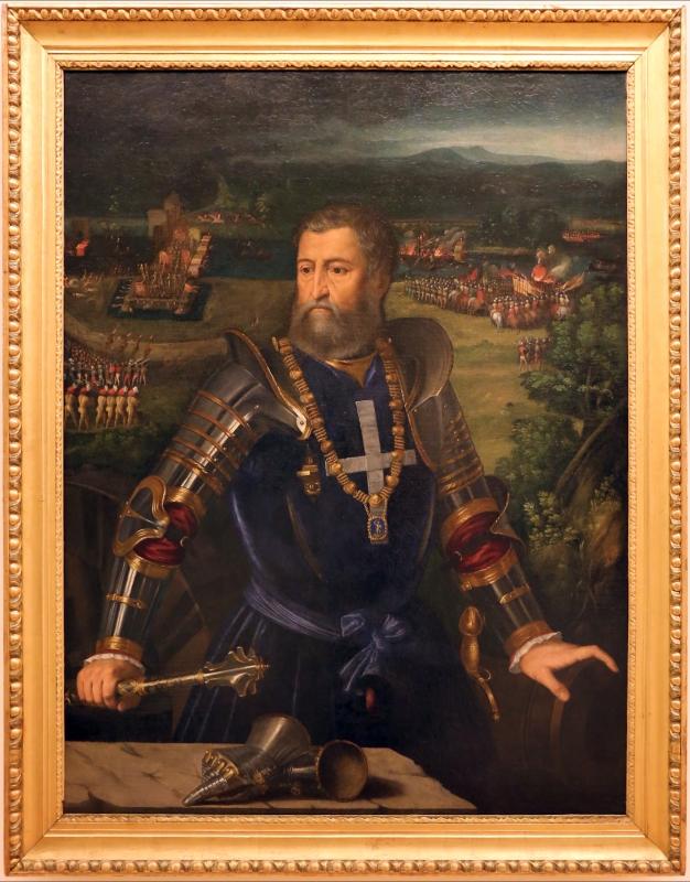 Battista dossi, ritratto di alfonso I d'este, 1534-36 ca - Sailko - Modena (MO)