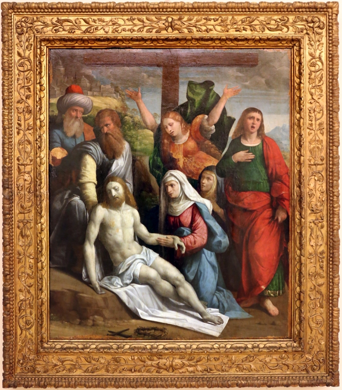 Bottega del garofalo, compianto sul cristo morto, 1527 - Sailko - Modena (MO)