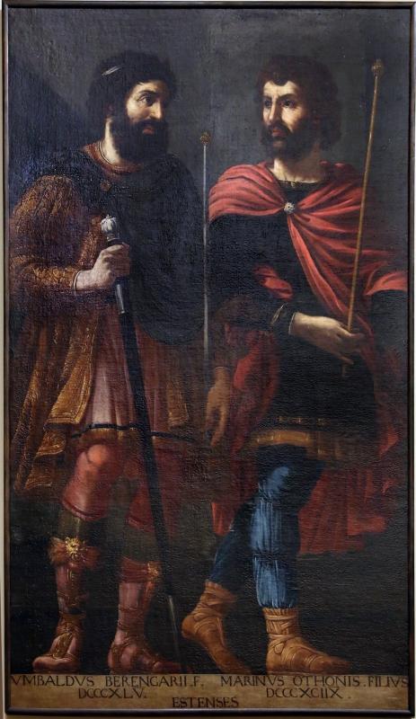 Bottega di bernardino cervi, ritratti ideali di ubaldo e marino d'este, 1627-28 - Sailko - Modena (MO)