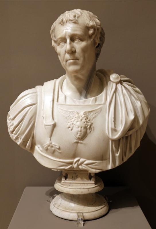 Busto di ignoto all'antica, xvi secolo - Sailko - Modena (MO)
