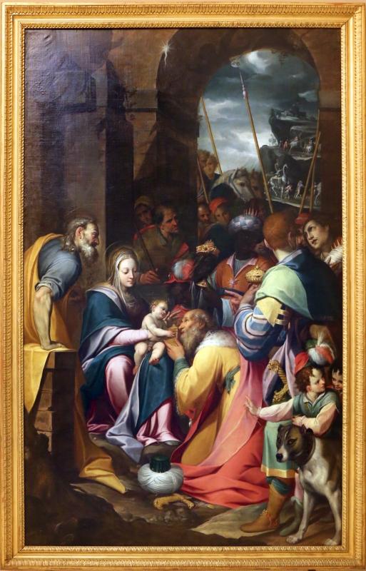 Camillo procaccini, adorazione dei magi, 1598-1608, 01 - Sailko - Modena (MO)