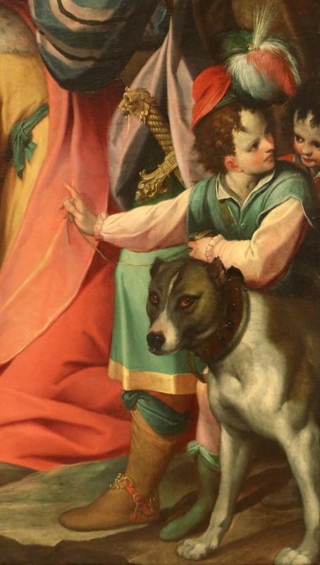Camillo procaccini, adorazione dei magi, 1598-1608, 02 - Sailko - Modena (MO)