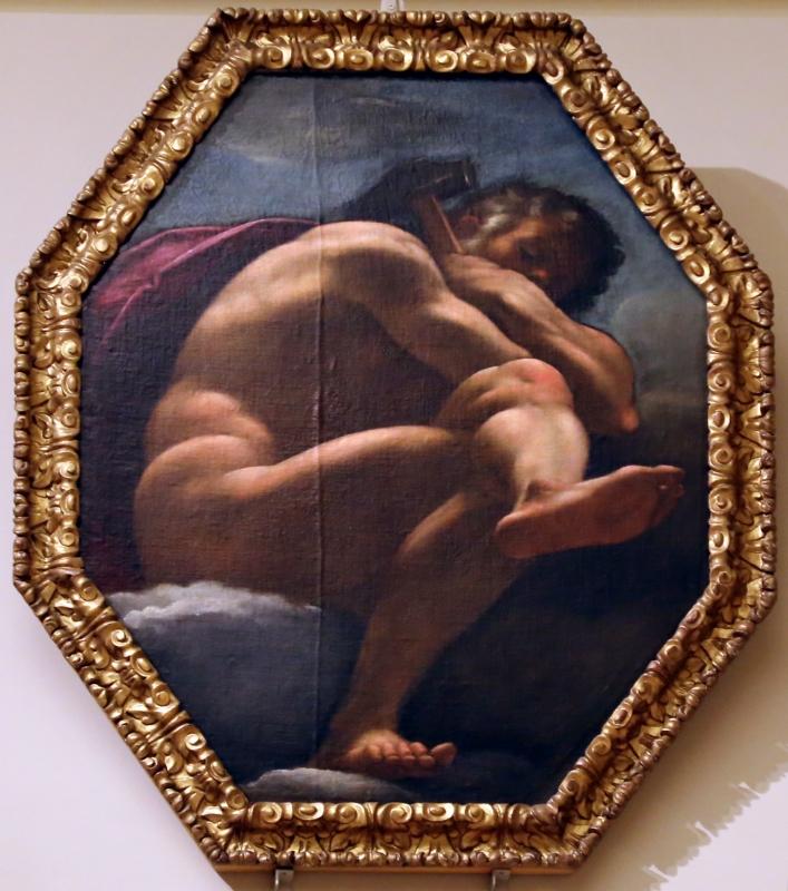 Carlo bononi (attr.), vulcano, 1591-93 - Sailko - Modena (MO)