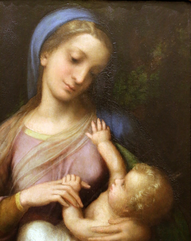 Correggio, madonna campori, 1517-18, 02 - Sailko - Modena (MO)