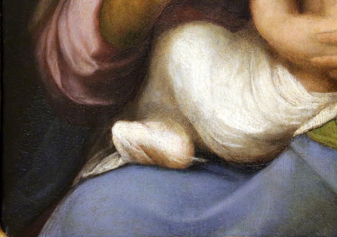 Correggio, madonna campori, 1517-18, 04 piedino - Sailko - Modena (MO)