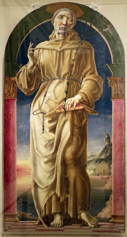 Cosmè tura, sant'antonio da padova, 1484-88 ca. 01 - Sailko - Modena (MO)