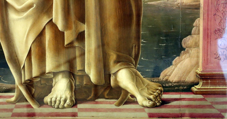 Cosmè tura, sant'antonio da padova, 1484-88 ca. 05 - Sailko - Modena (MO)