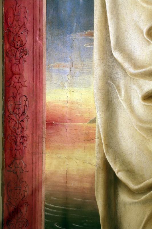 Cosmè tura, sant'antonio da padova, 1484-88 ca. 06 tramonto o alba - Sailko - Modena (MO)