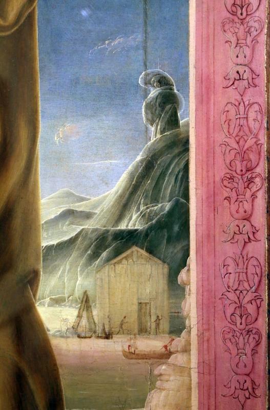 Cosmè tura, sant'antonio da padova, 1484-88 ca. 07 monte - Sailko - Modena (MO)