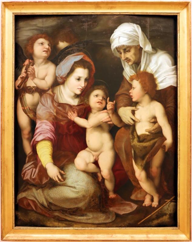 Da andrea del sarto, madonna col bambino, sant'elisabetta, sa giovannino e due angeli - Sailko - Modena (MO)