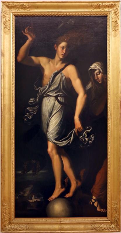 Da girolamo da carpi, occasio e pazienza, 1610 ca - Sailko - Modena (MO)