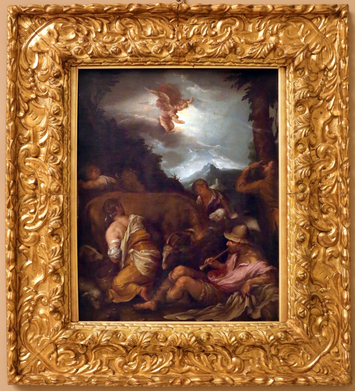 Da jacopo bassano, annuncio ai pastori, 1600-50 ca - Sailko - Modena (MO)