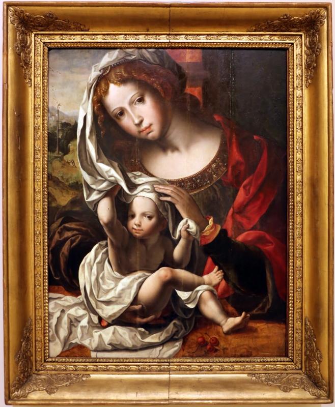 Da mabuse, madonna col bambino - Sailko - Modena (MO)