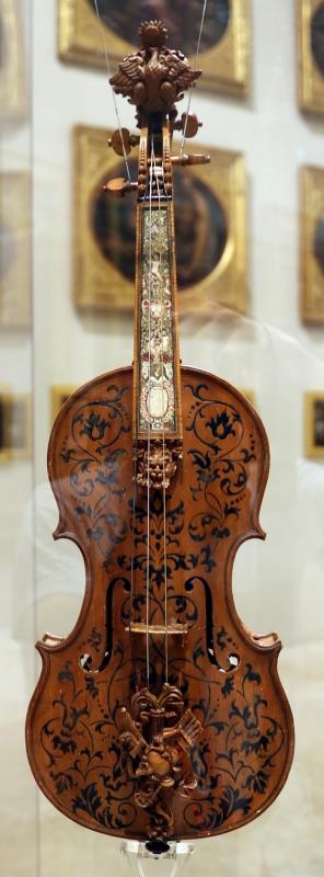 Domenico galli e liutaio ignoto, violino, 1687, 01 - Sailko - Modena (MO)