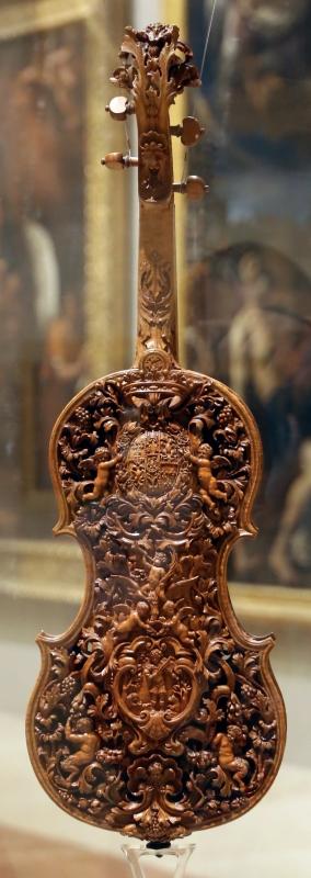 Domenico galli e liutaio ignoto, violino, 1687, 02 - Sailko - Modena (MO)