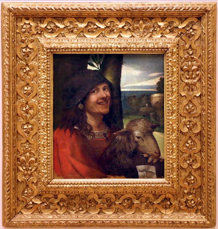 Dosso dossi, ritratto di buffone di corte, 1508-10 ca. 01 - Sailko - Modena (MO)