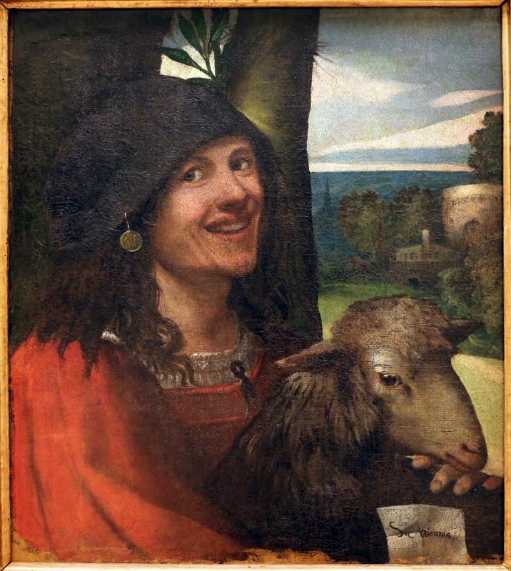 Dosso dossi, ritratto di buffone di corte, 1508-10 ca. 02 - Sailko - Modena (MO)