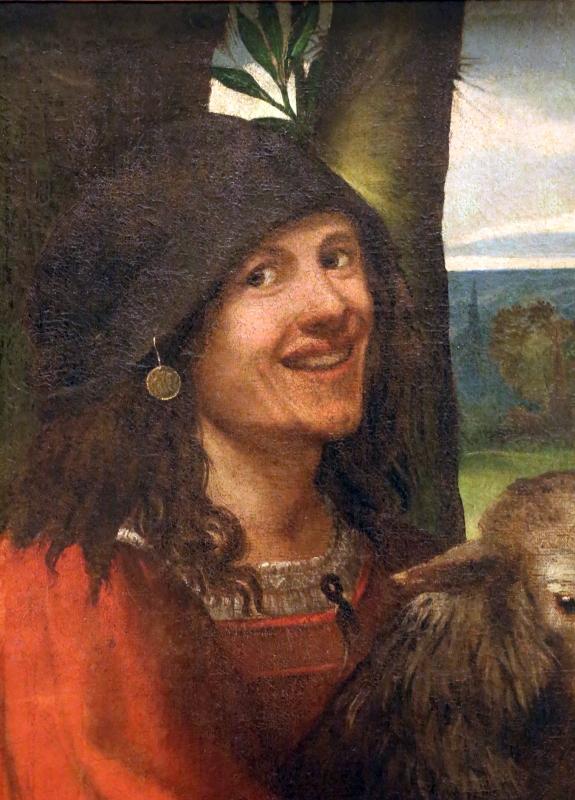 Dosso dossi, ritratto di buffone di corte, 1508-10 ca. 03 - Sailko - Modena (MO)