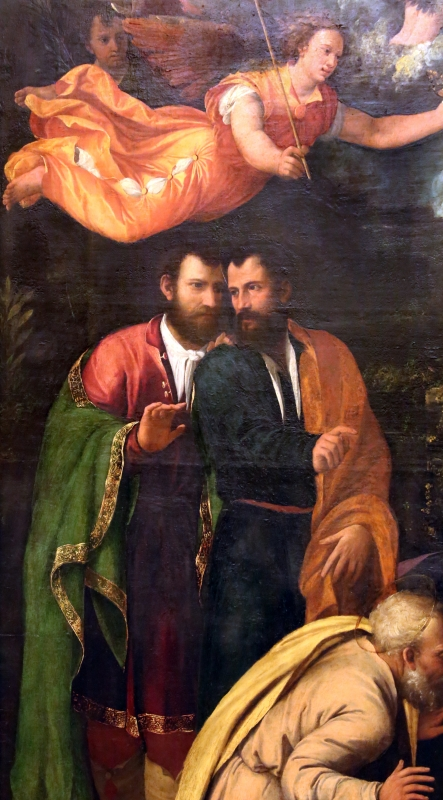 Dosso e battista dossi, adorazione del bambino, 1535-36, 02 - Sailko - Modena (MO)
