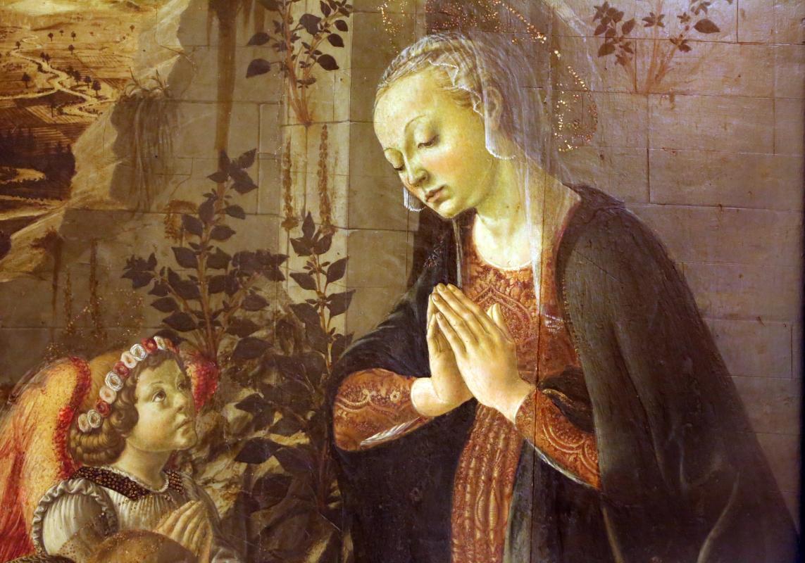 Francesco botticini, adorazione del bambino, 1470-80 ca. 04 - Sailko - Modena (MO)