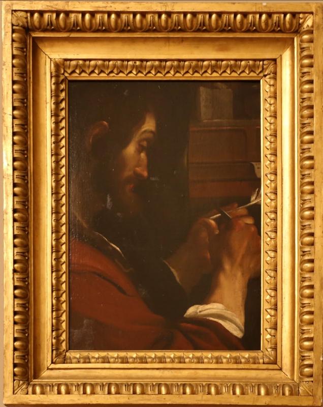Francesco stringa, san marco evangelista (da guercino), 1675-85 ca - Sailko - Modena (MO)