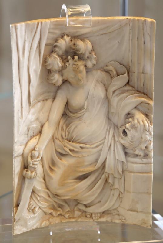 Francis van bossuit, giuditta con la testa di oloferne, avorio, 1655-90 ca - Sailko - Modena (MO)