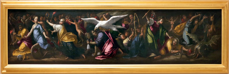 Gaspare venturini, allegorie di casa d'este, 1592-93, 02 - Sailko - Modena (MO)