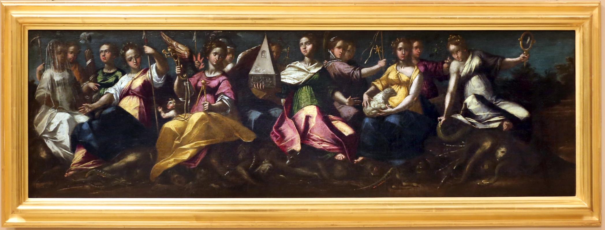 Gaspare venturini, allegorie di casa d'este, 1592-93, 04 - Sailko - Modena (MO)