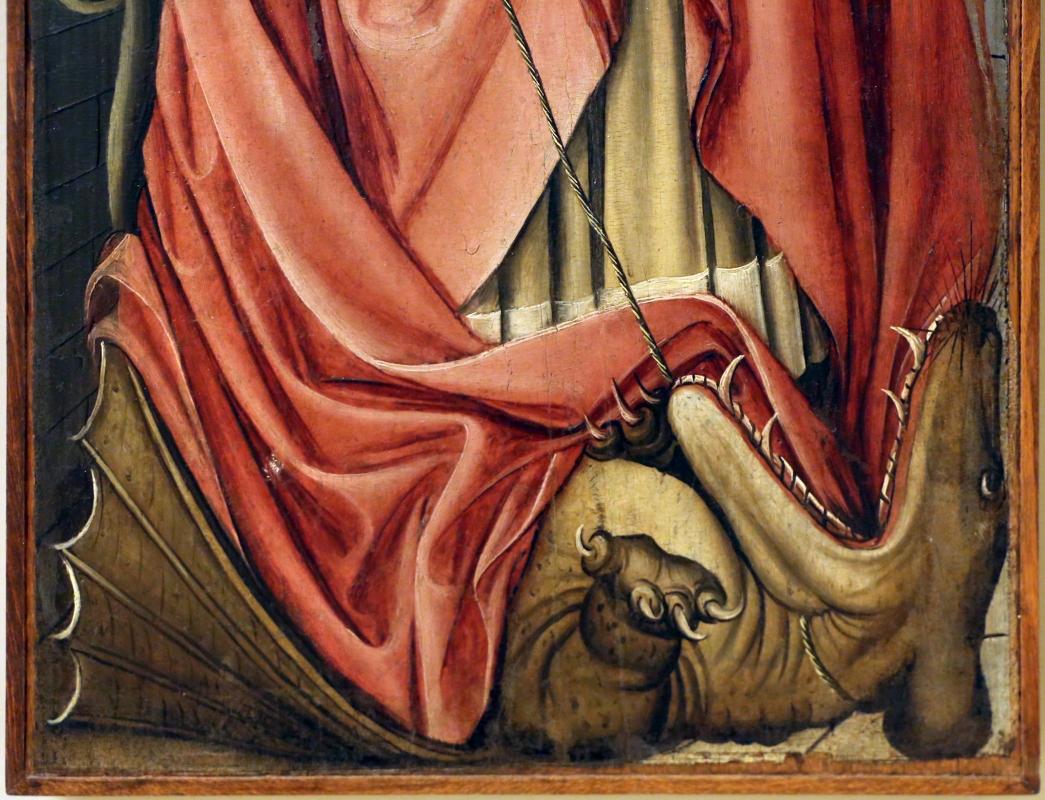 Germania meridionale, annunciazione, ss. margherita e dorotea, visitazione, 1450 ca. 04 - Sailko - Modena (MO)
