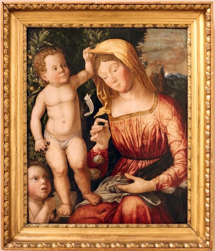 Giovan francesco caroto, madonna col bambino e san giovannino, 1501, 01 - Sailko - Modena (MO)