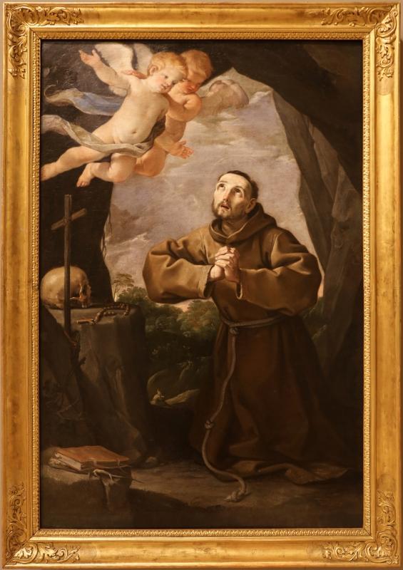 Giovan francesco gessi, san francesco in adorazione della croce, 1630-40 ca. 01 - Sailko - Modena (MO)
