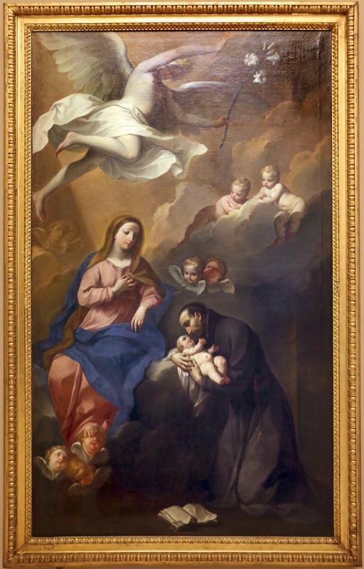 Giovan gioseffo dal sole, madonna col bambino e san gaetano da thiese, 1707 ca - Sailko - Modena (MO)
