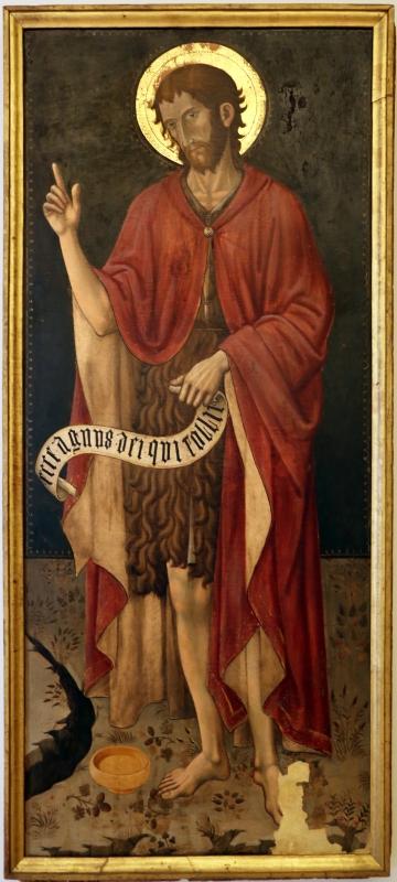 Giovanni antonio da pesaro, san giovanni battista, 1460-70 ca - Sailko - Modena (MO)