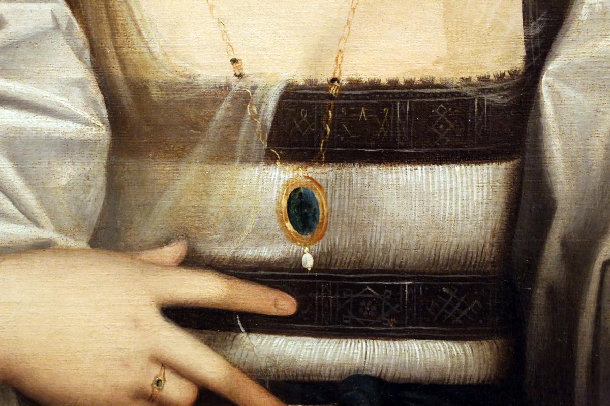 Giovanni cariani, ritratto di donna detta violante, 1515-20 ca. 03 gemma incisa - Sailko - Modena (MO)