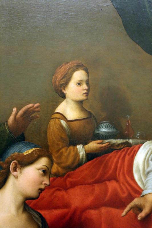 Giuliano bugiardini, nascita del battista, 1517-18, 05 - Sailko - Modena (MO)