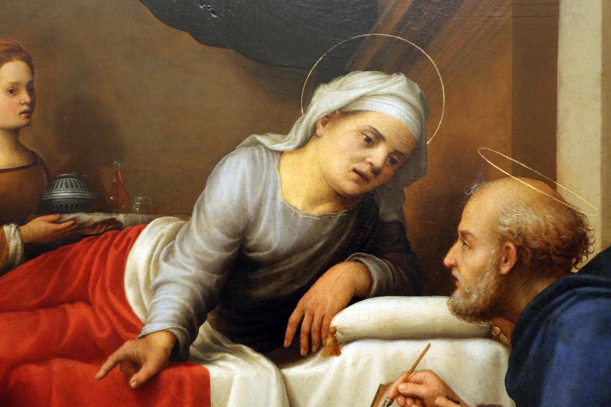 Giuliano bugiardini, nascita del battista, 1517-18, 06 - Sailko - Modena (MO)