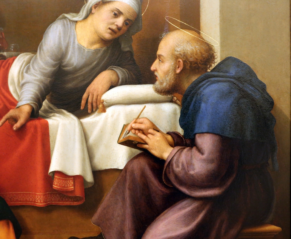 Giuliano bugiardini, nascita del battista, 1517-18, 09 - Sailko - Modena (MO)